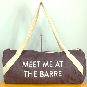Private Party 🧡 Meet Me At The Barre Gym Bag